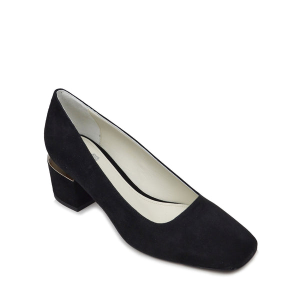 Violet Pump  - Black Suede - Soho Exclusive