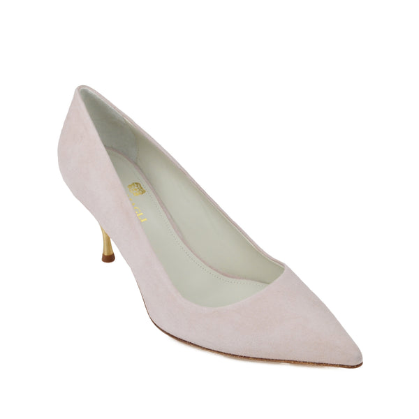Milla Suede Pump - Sand - FINAL SALE