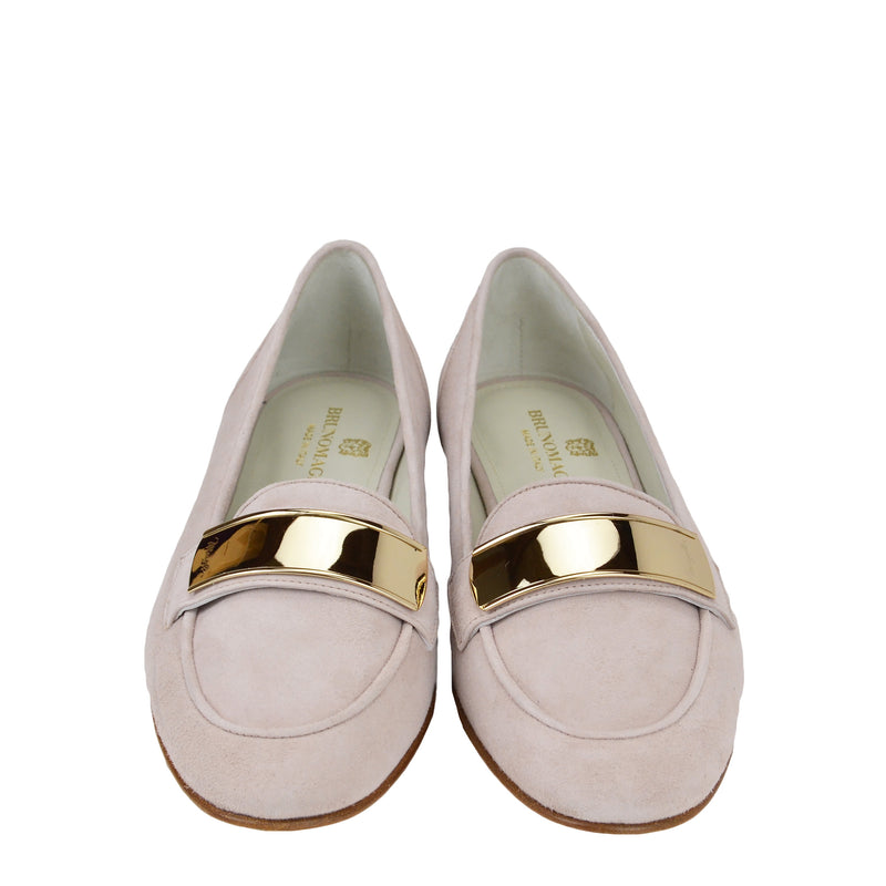 Simone Suede Loafer - Sand - FINAL SALE