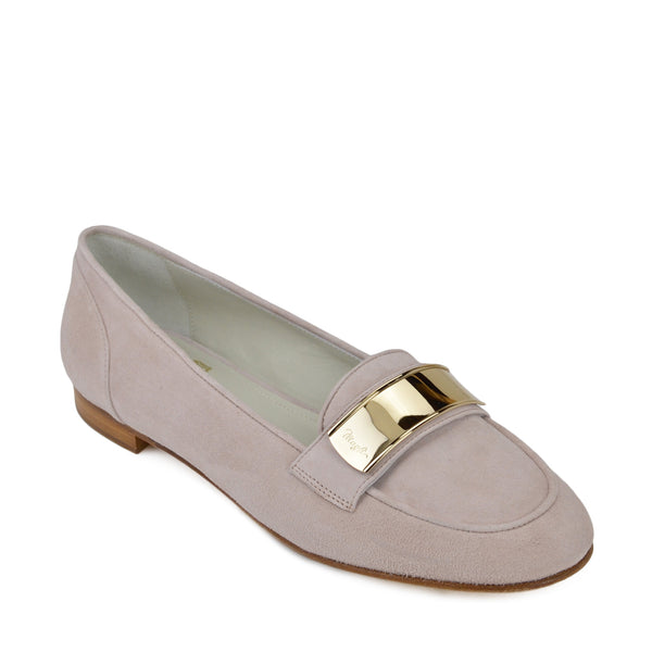 Simone Suede Loafer - Sand