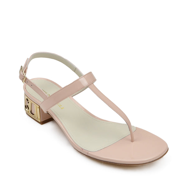 Venice Patent Leather Sandal - Nude - FINAL SALE