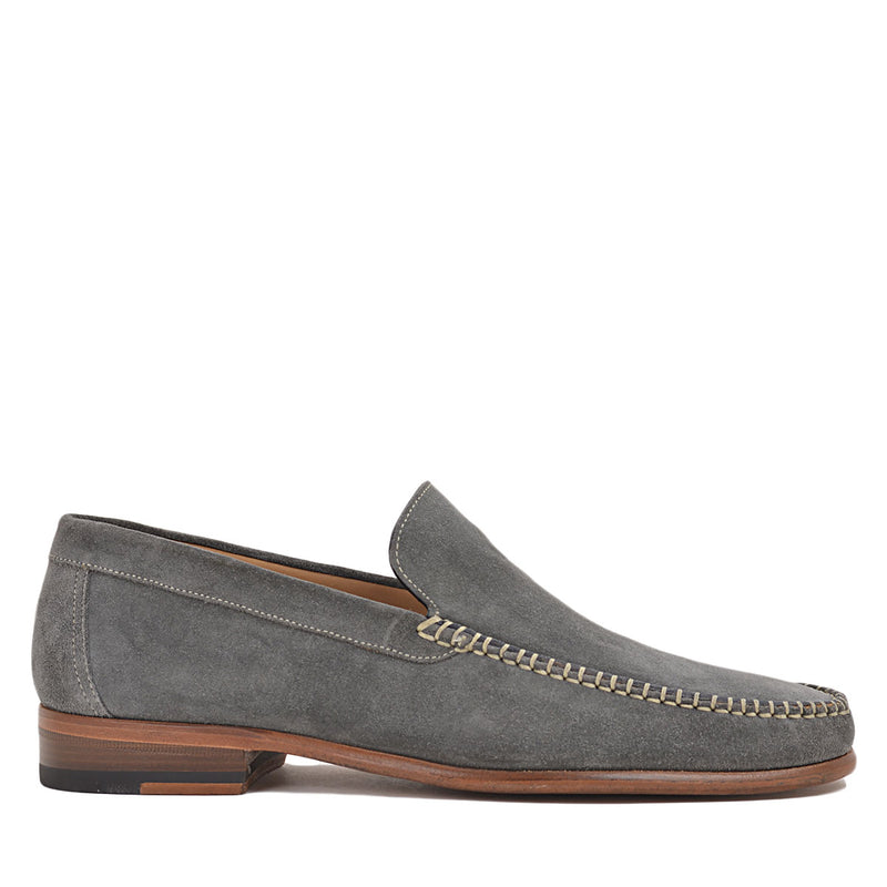 Boca Suede Loafer - Dark Grey Suede - FINAL SALE