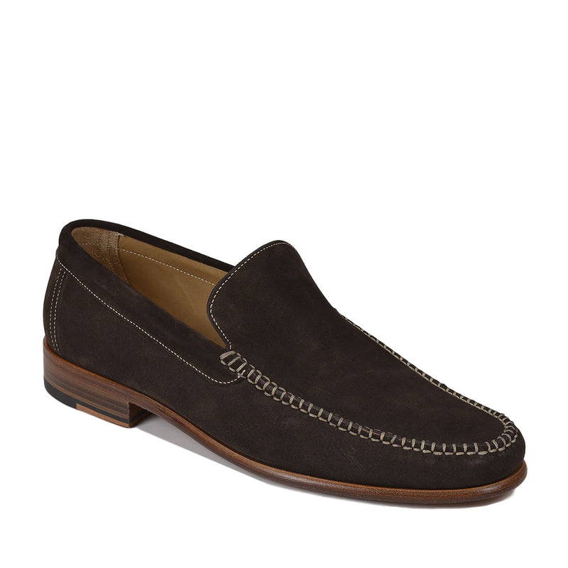 Boca Suede Loafer - Moka Velour Suede  - FINAL SALE