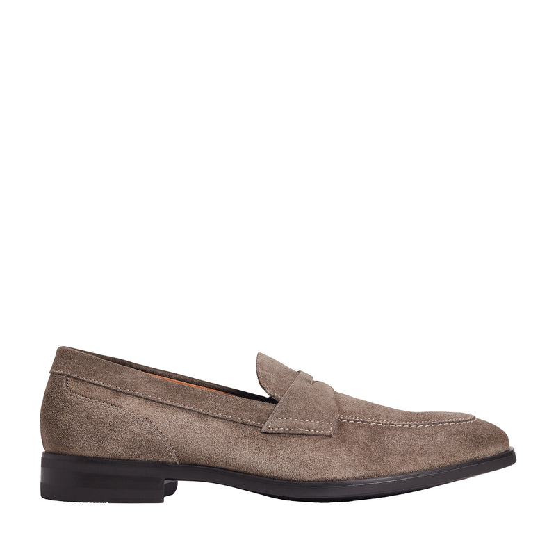 Brando Suede Loafer - Taupe