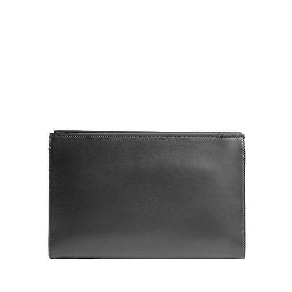 Penelope Clutch - Black/Black/Black Leather/Suede