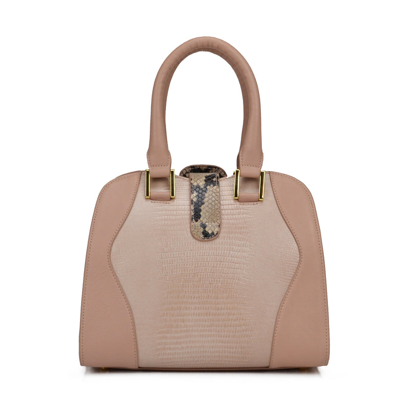 Equestrian Lock-Flap Bowler - Blush - FINAL SALE