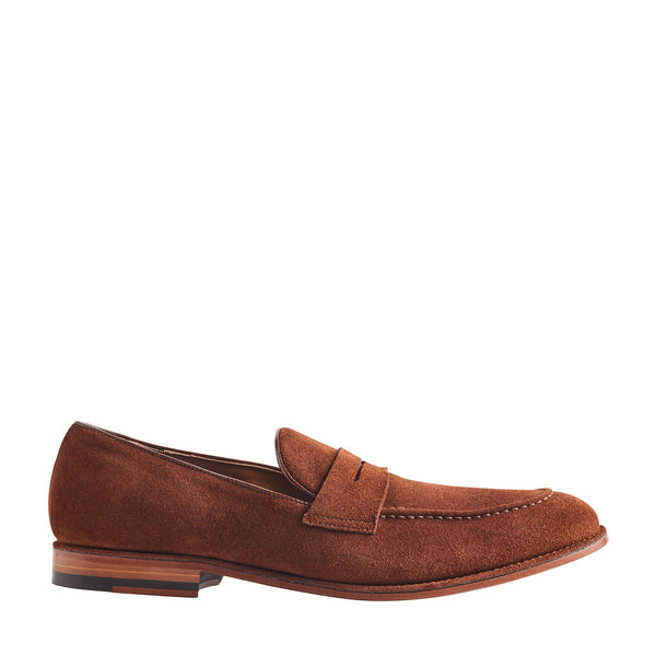 California Suede Loafer - Cognac