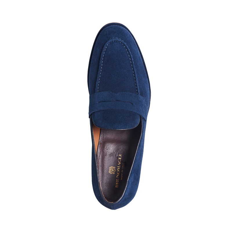 California Suede Loafer - Navy