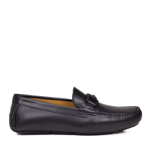Daniel Leather Driving Moccasin - Black - Online Exclusive