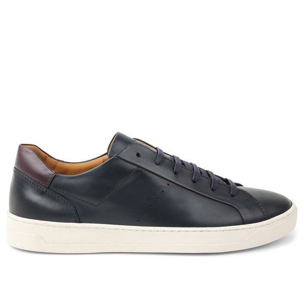 Dante Lace-to-Toe Oxford Sneaker - Navy