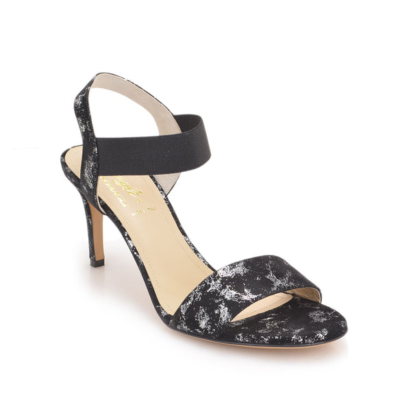 Daphne Sandal, 2.8-inch - Black Suede - FINAL SALE