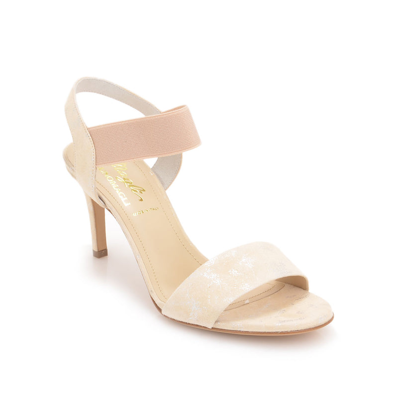 Daphne Sandal, 2.8-inch - Blush Suede - FINAL SALE