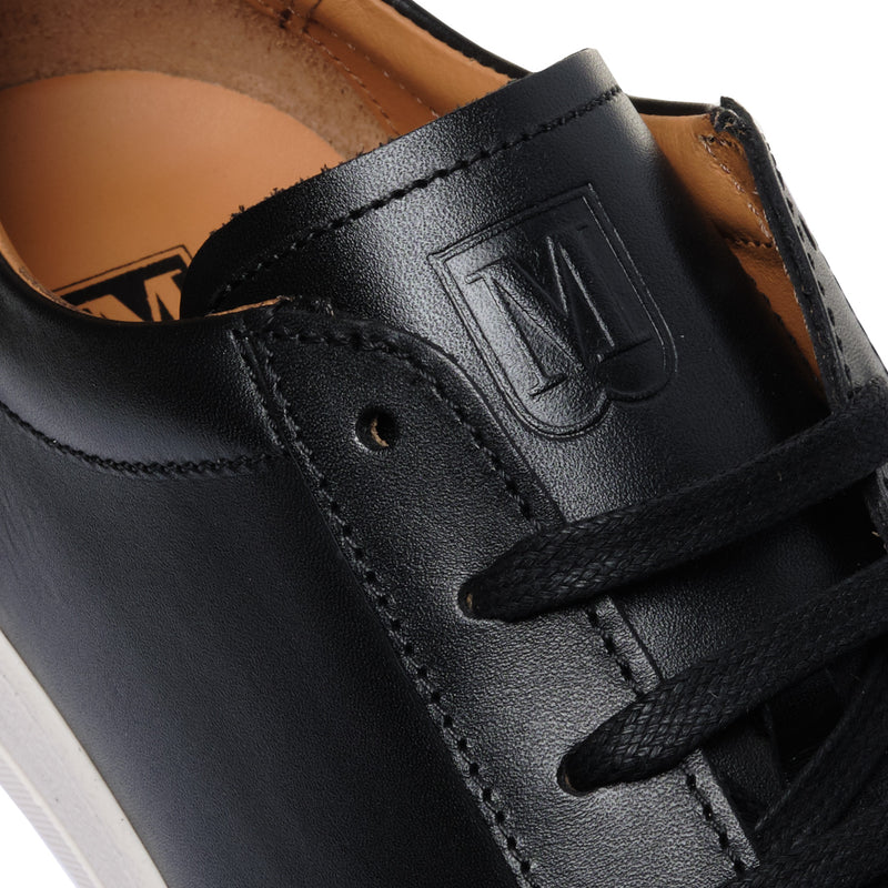 Diaz Leather Sneaker - Black