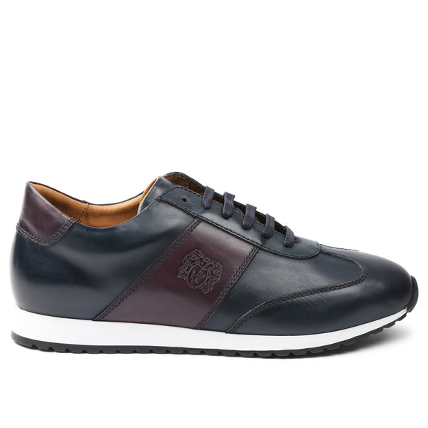 Elliot Jogger Lace-Up Oxford Sneaker - Navy