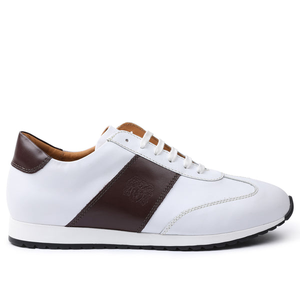 Elliot Jogger Lace-Up Oxford Sneaker - White