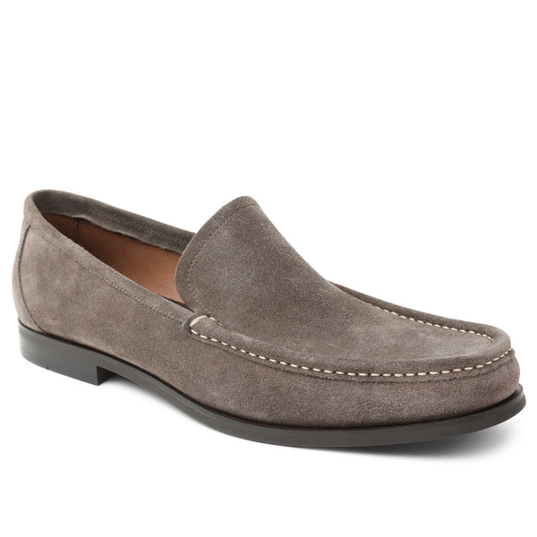 Encino Suede Casual-Vamp Loafer - Taupe