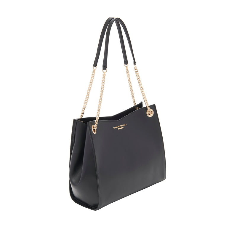 Chain Expandable Tote - Black