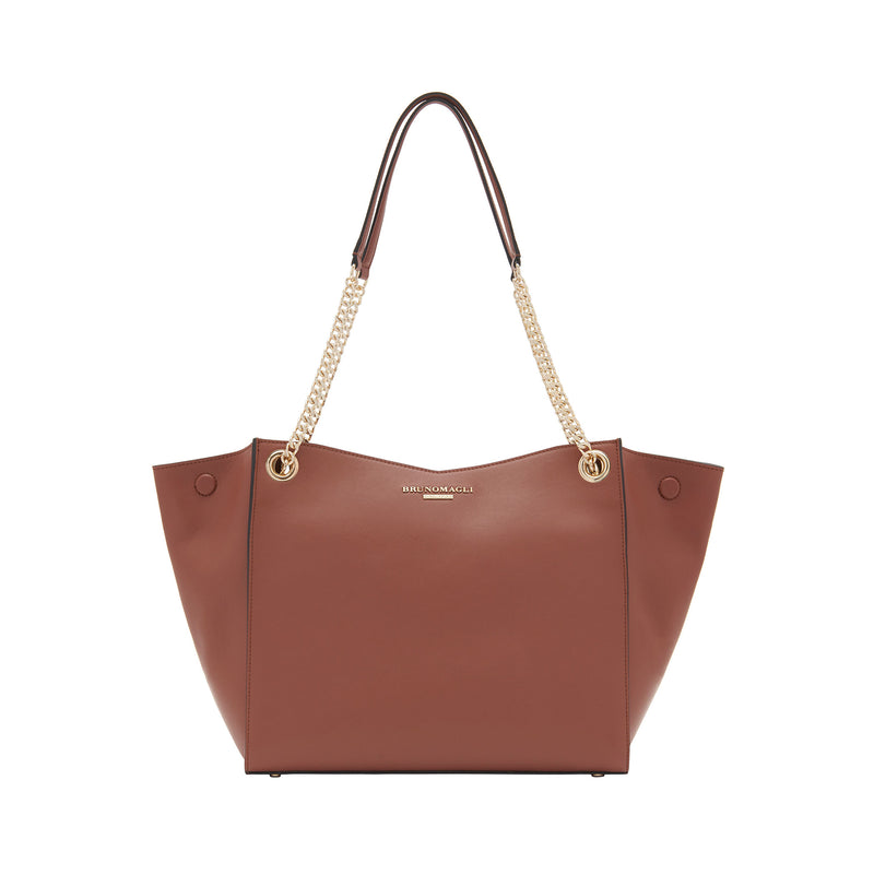 Chain Expandable Tote - Sienna