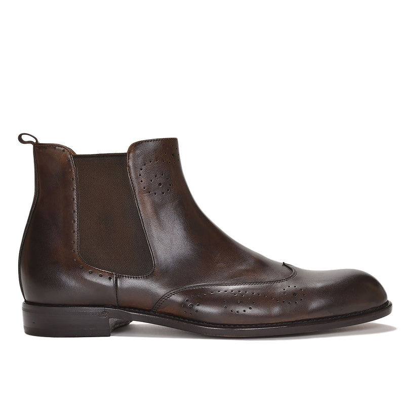 Collezione Filipo Boot - Dark Brown Leather