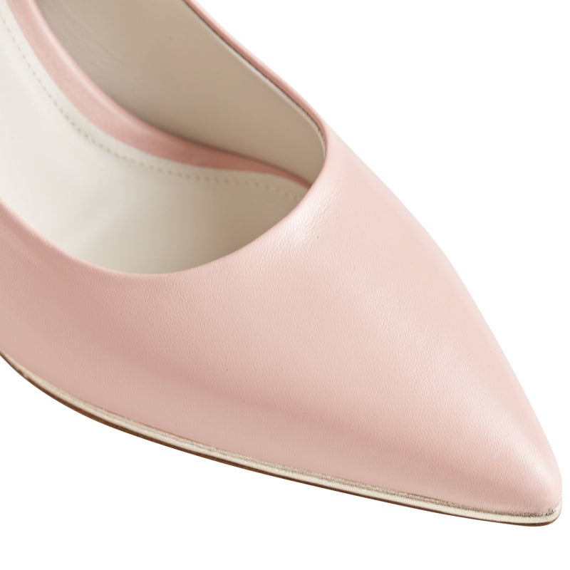 Galena Pointed-Toe Pump, 2.5 Inch - Rosewater