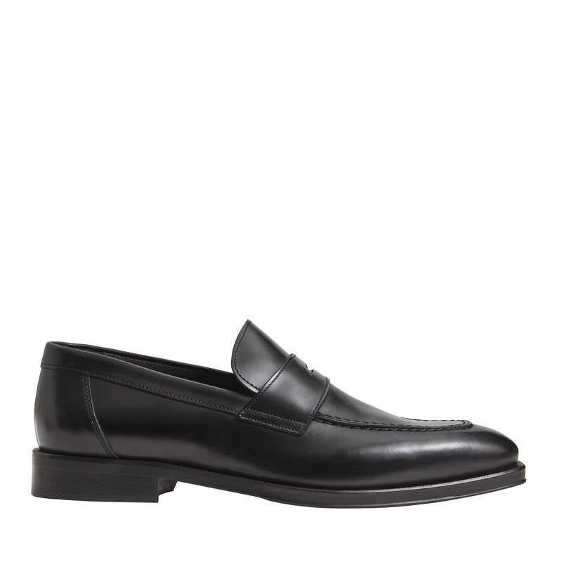 Hudson Leather Dress Loafer - Black