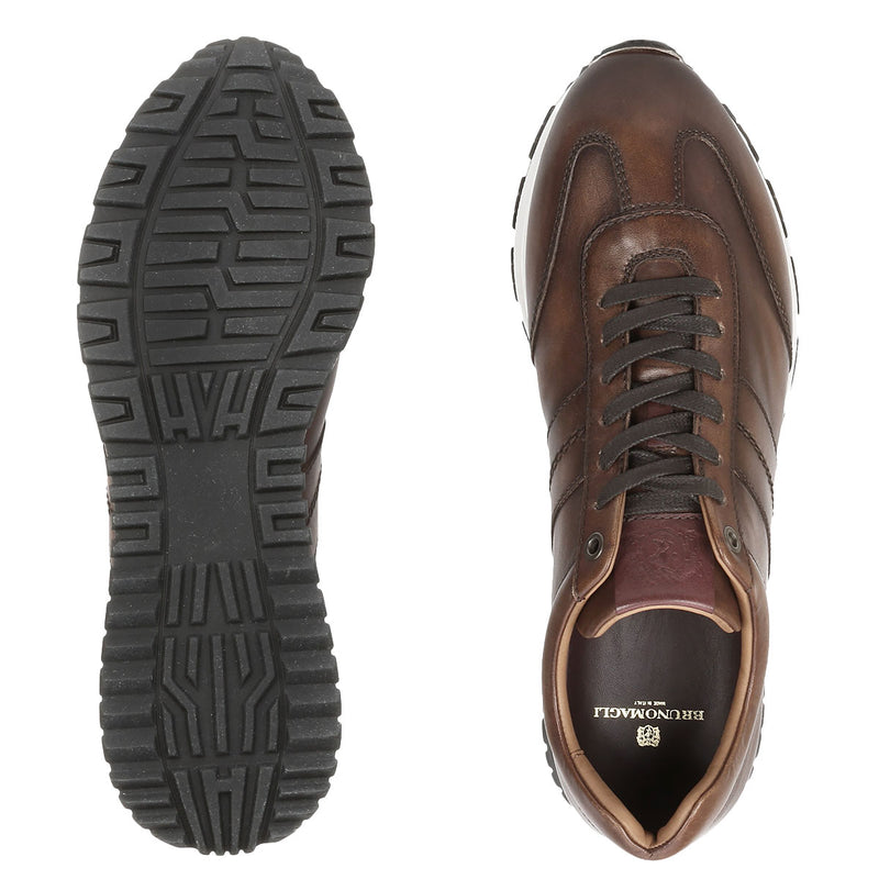 Ikaro Sneaker - Brown Leather - FINAL SALE