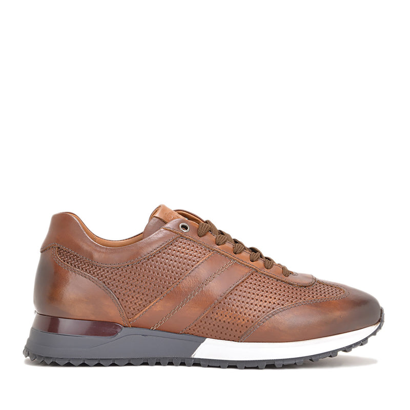 Ikaro Sneaker - Rust Leather - FINAL SALE