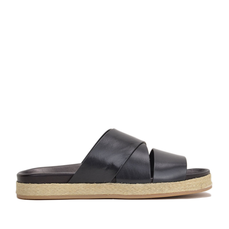 Isola Sandal - Black Leather - FINAL SALE