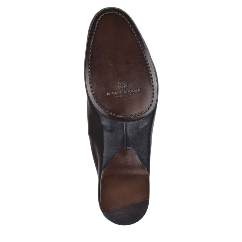 Leo Bit Loafer - Black Leather