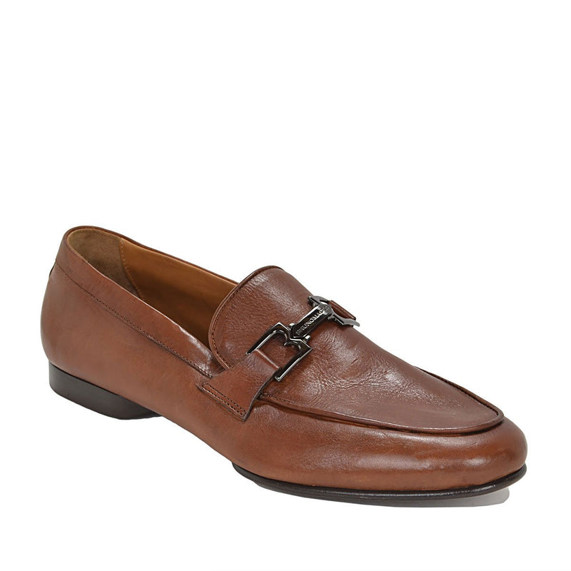 Leo Bit Loafer - Cognac Leather - FINAL SALE