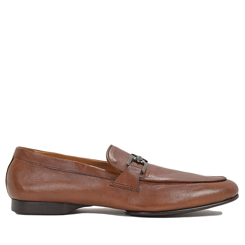 Leo Bit Loafer - Cognac Leather