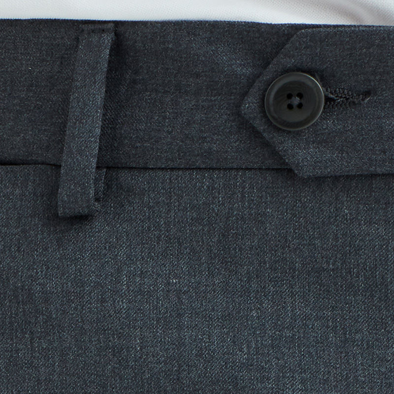 Limbo Two-Button Wool Suit - Grey - FINAL SALE