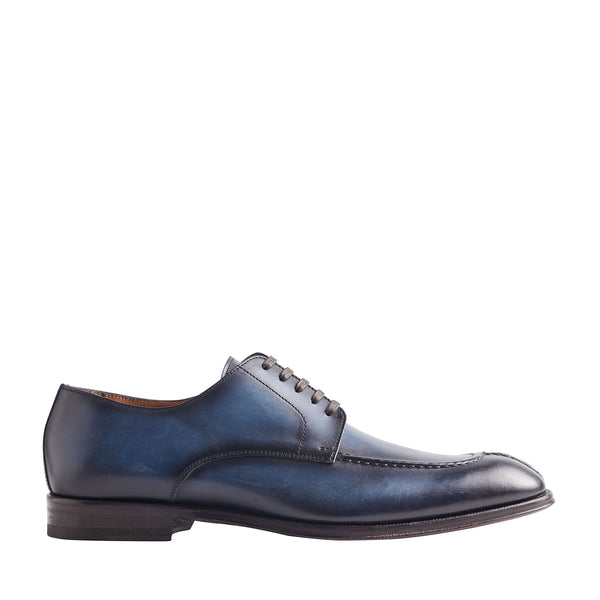 Livio 5-Eyelet Derby Shoe - Blue
