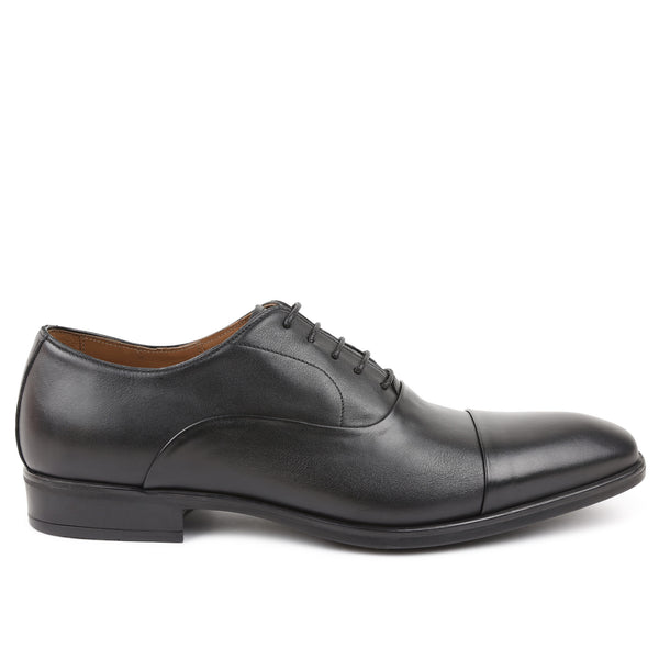 Locascio Cap-Toe Oxford - Black