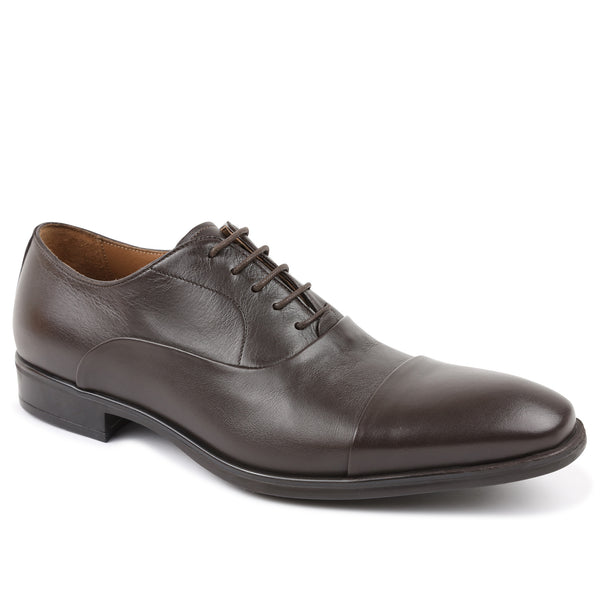 Locascio Cap-Toe Oxford - Dark Brown
