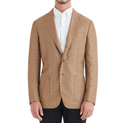 Lucca Three-Button Wool & Linen Sportcoat