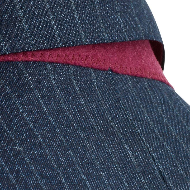 Verdi Pinstripe Two-Button Suit - Navy - Online Exclusive