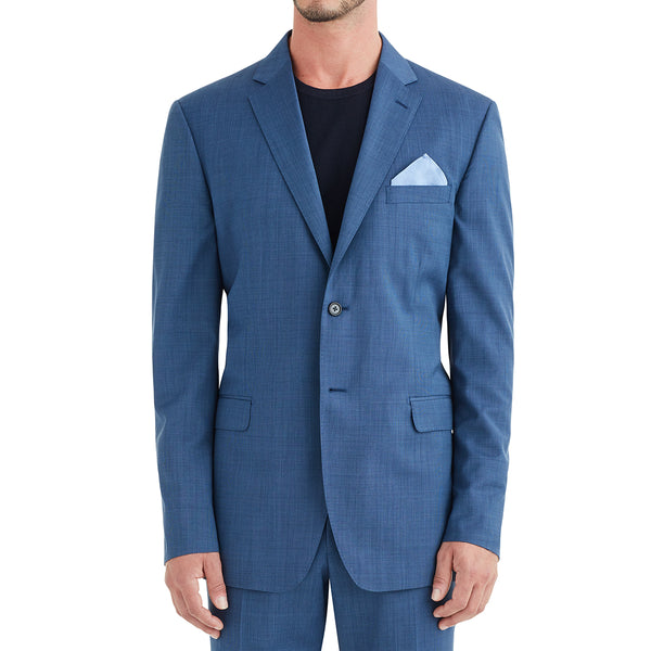 Verdi Solid Two-Button Suit - Blue - Online Exclusive