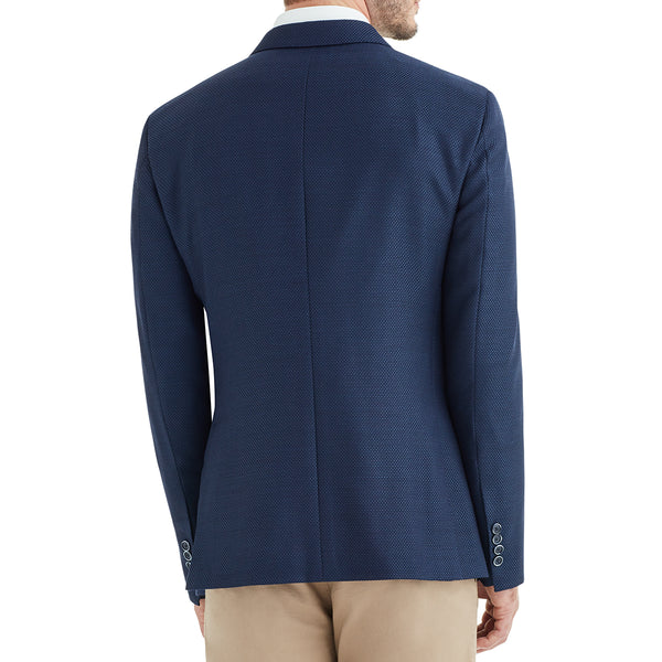 Lucca Two-Button Wool & Linen Sportcoat - Navy - Online Exclusive