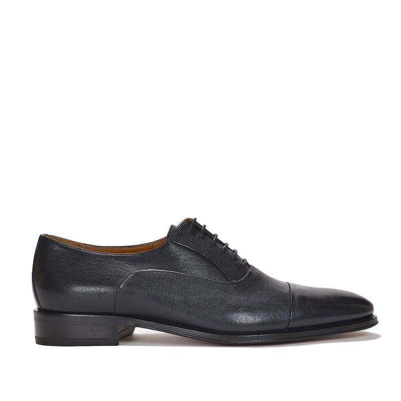 Maioco Leather Oxford - Navy Leather