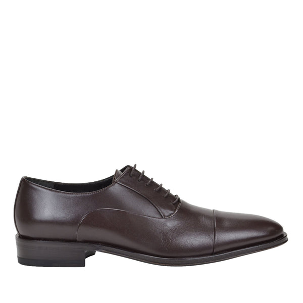 Maioco Leather Oxford - Dark Brown