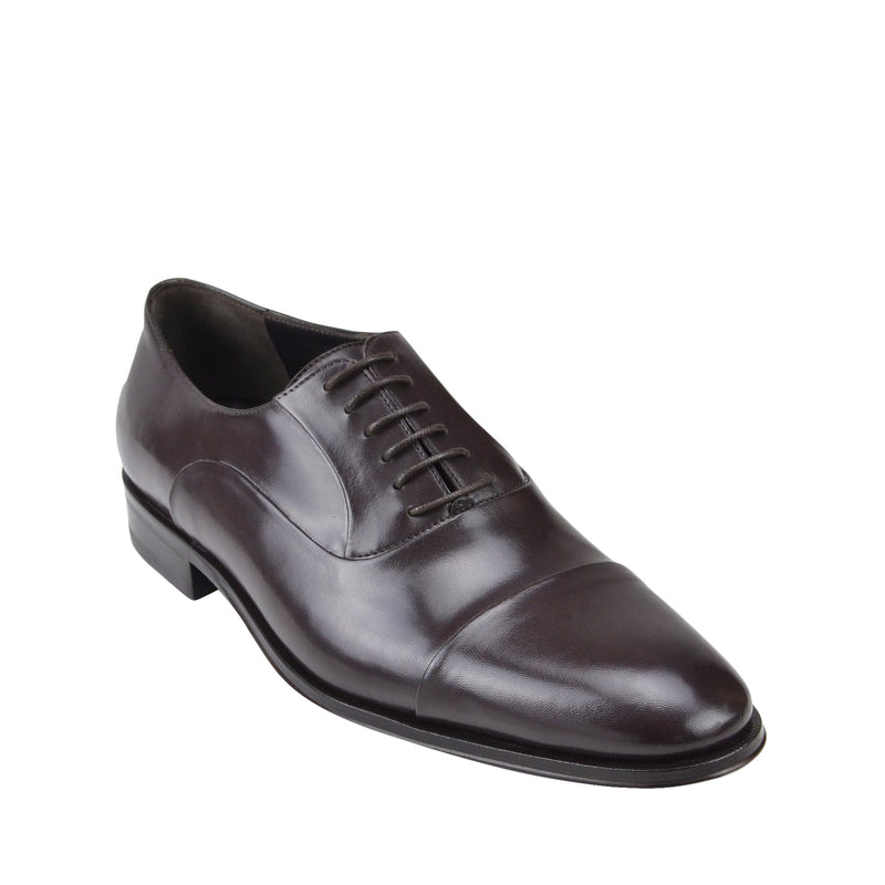 Maioco Leather Oxford - Dark Brown Leather
