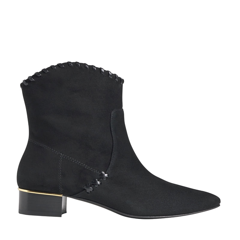 Marlene Western Ankle Boot - Black