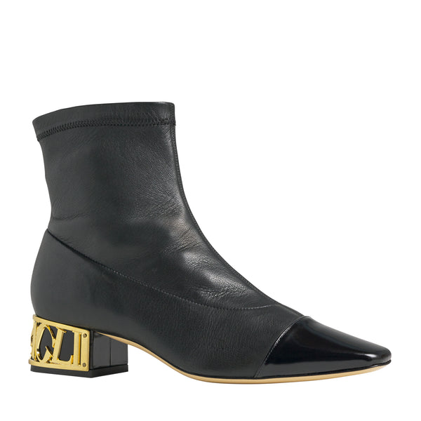 Matisse Block Heel Ankle Boot - Black