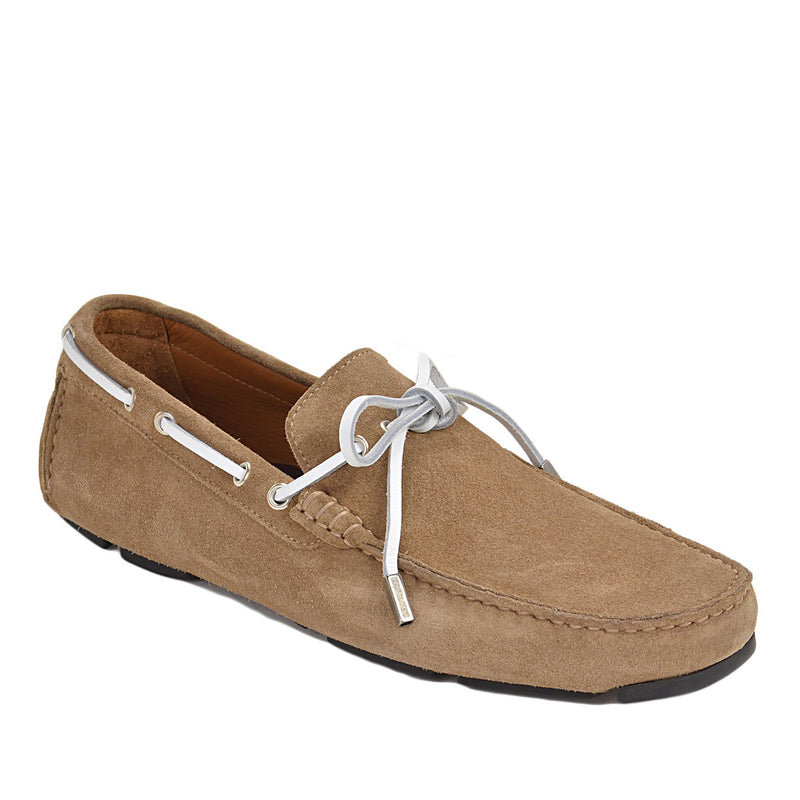 Morotta Boat Shoe Driver - Sand Suede - FINAL SALE