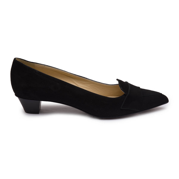 Naomi Women's Pump - Black Suede