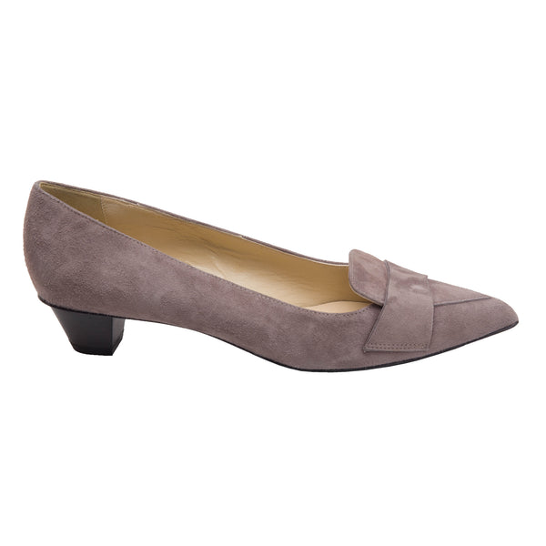 Naomi Women's Pump - Taupe Suede