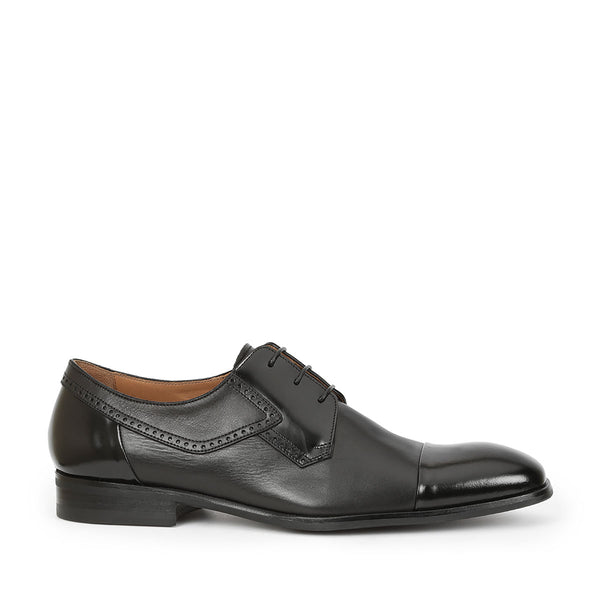 Nino Lace-up - Black Leather - FINAL SALE