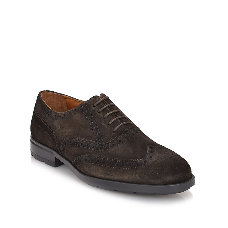 Oliver Suede Lace-up - Dark Brown Suede - FINAL SALE