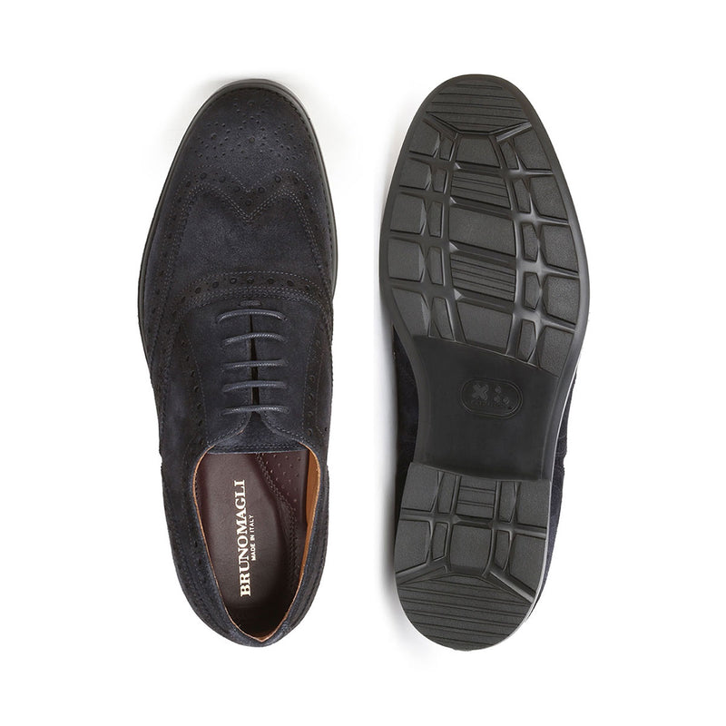 Oliver Suede Lace-up - Navy Suede - FINAL SALE